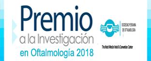 Premio Nacional SPO a la Investigación en Oftalmología 2018