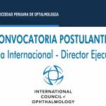 Convocatoria Director Ejecutivo de ICO