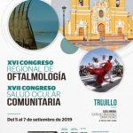 XVI Congreso Regional de Oftalmología y XVII Congreso Salud Ocular Comunitaria