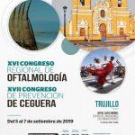 XVI Congreso Regional de Oftalmología y XVII Congreso Prevención de Ceguera