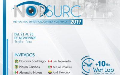 Curso Internacional NorSurC – Refractiva, Superficie, Cornea y Catarata  – Noviembre 2019