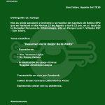 Reunión del Capítulo de Retina – Agosto 2019