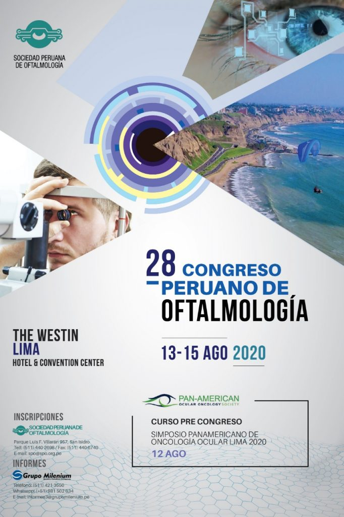 28 Congreso Peruano de Oftalmología 2020 – The Westin . Lima