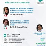 SESIÓN ONLINE CAPÍTULO DE GLAUCOMA – OCTUBRE2020