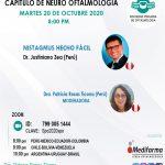 SESIÓN ONLINE CAPÍTULO DE NEURO OFTALMOLOGIA – OCTUBRE 2020
