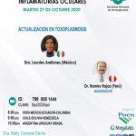 SESIÓN ONLINE CAPÍTULO DE UVEÍTIS Y ENFERMEDADES INFLAMATORIAS OCULARES- OCTUBRE2020