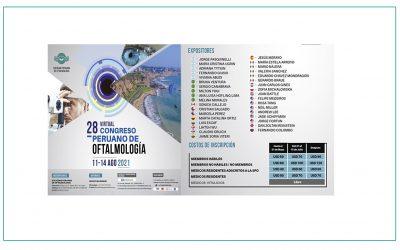 28 VIRTUAL CONGRESO PERUANO DE OFTALMOLOGIA – SPO