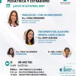 SESIÓN ONLINE CAPÍTULO DE OFTALMOLOGÍA PEDIÁTRICA Y ESTRABISMO – SET2021