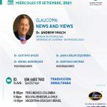 SESIÓN ONLINE CAPÍTULO PERUANO DE GLAUCOMA – SET2021