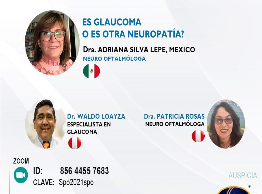 SESIÓN ONLINE CAPÍTULO DE NEURO OFTALMOLOGIA – SET2021