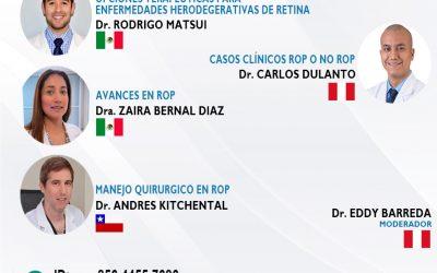 SESIÓN ONLINE CAPÍTULO DE RETINA Y VITREO – SET2021