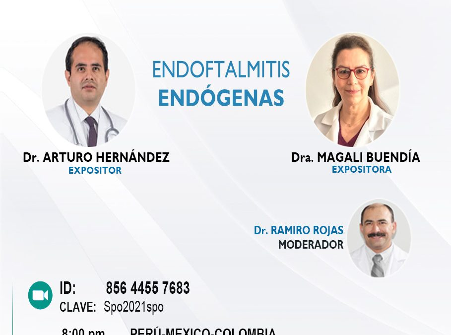 SESIÓN ONLINE CAPÍTULO DE UVEÍTIS Y ENFERMEDADES INFLAMATORIAS OCULARES – SET2021