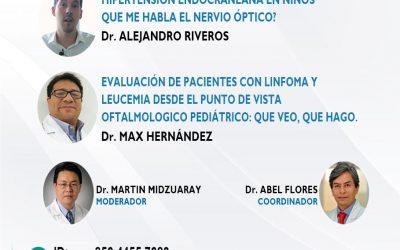 SESIÓN ONLINE CAPÍTULO DE OFTALMOLOGÍA PEDIÁTRICA Y ESTRABISMO – OCT2021