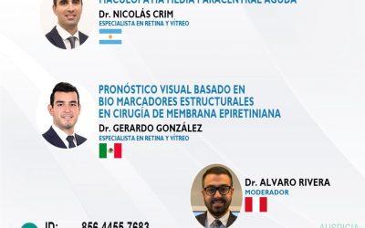 SESIÓN ONLINE CAPÍTULO DE RETINA Y VITREO – OCT2021