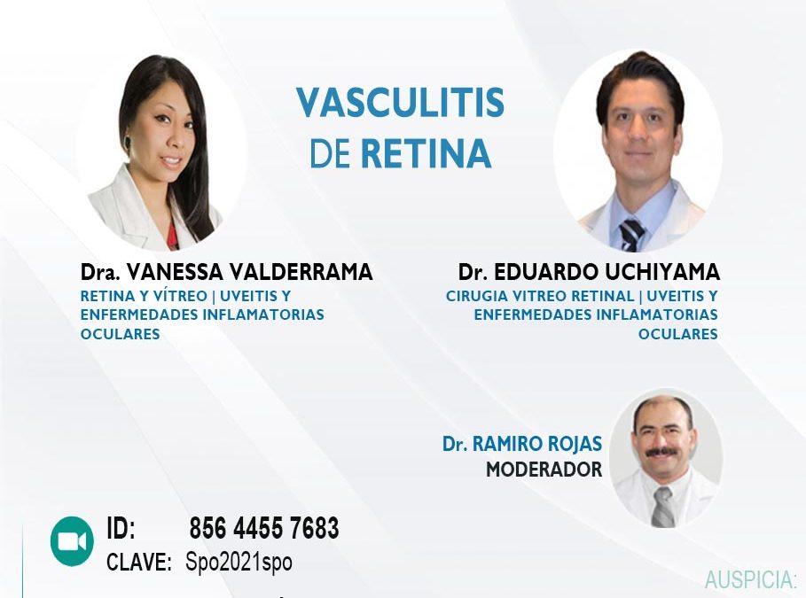 SESIÓN ONLINE CAPÍTULO DE UVEÍTIS Y ENFERMEDADES INFLAMATORIAS OCULARES – OCT2021